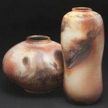 Saggar Fired Tall and Round Vessels